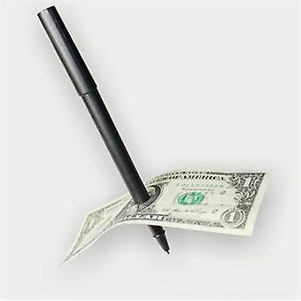 Magic Trick Ball Pen - Dollari Bill Penetration Taikuri Lelu