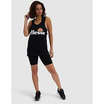 New Ellesse Women's Core Logo Cycle Shorts Black