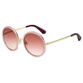 Sonnenbrille Damen  Lamonica  lila/gold