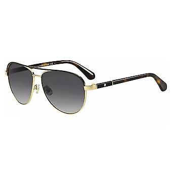 Sonnenbrille Damen  Emilyann   Gold/Havanna dunkelbraun