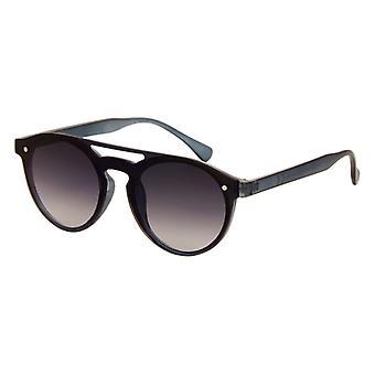 Sunglasses Unisex matt blue with mirror lens (AZ-4170)