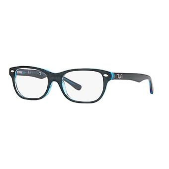 Ray-Ban Junior RB1555 3667 Top Blue en gafas fluorescentes azules