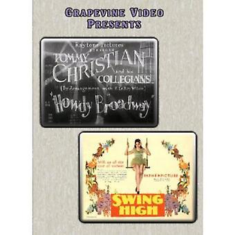 Howdy Broadway (1929) / Swing High (1930) [DVD] USA import