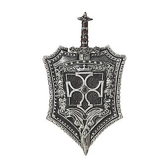 Crusader Knight Medieval Costume Weapon Shield & Sword