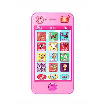 Russian Language Kids Phone Toys For Educational Simulation And Music
