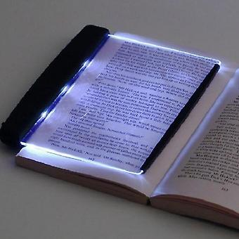 Book-light Creative Led Desk Lamps, Reading-night-light Flat Plate Portable Car