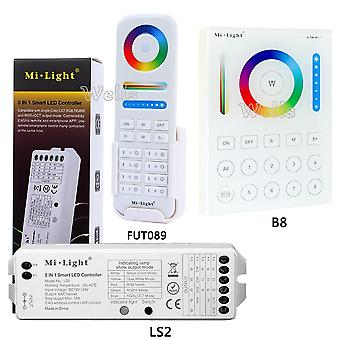 Wall-mounted Touch Panel; Zone Remote Rf Dimmer; Smart Led Controller