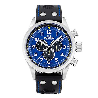 TW الصلب TWSVS305 Volante Petter سولبرغ الأزرق الاتصال ساعة اليد
