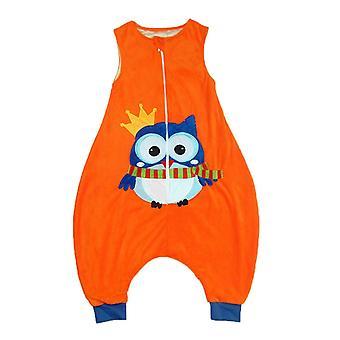 أطفال الأولاد، بنات الكرتون jumpsuit، بطانية يمكن ارتداؤها