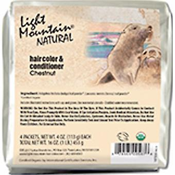 Light Mountain Natural Hair Color & Conditioner, Chestnut 16 Oz