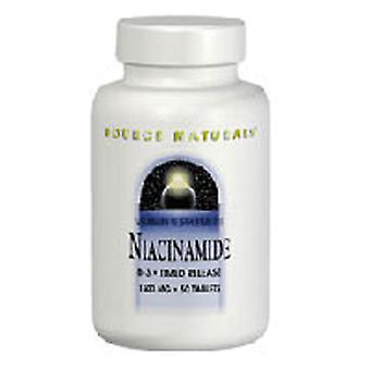 Quelle Naturals Niacinamid B-3, 1500 mg, 100 Tabs