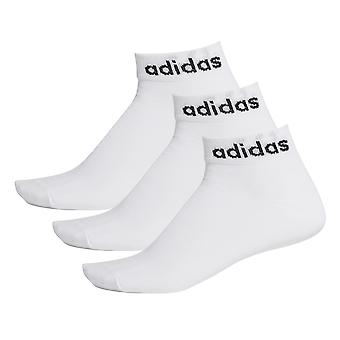 adidas Low Cut Ankle Exercise Fitness Calcetines Deportivos Blanco (3 Pack)