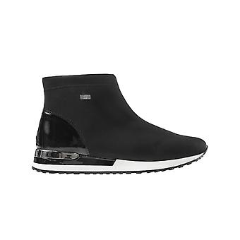 Stretch amster softlack ankle boots