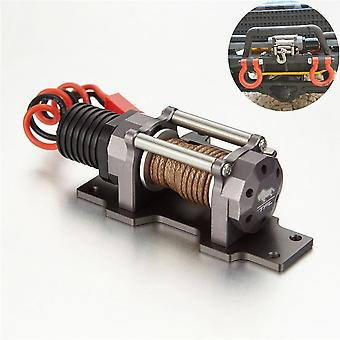 Full Metal Scale 1/10 Emulation Electric Winch With Single Motor For Tfl Rc