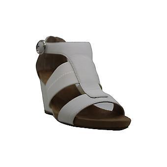 Alfani Womens pearceep Leather Open Toe Casual Platform Sandalen