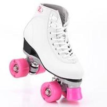 مزدوجة الأسطوانة التزلج على الجليد عجلات بكرة أحذية المرأة & apos;s
