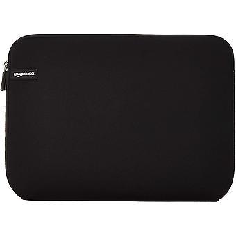 Amazonbasics μανίκι laptop για 14-ιντσών φορητούς υπολογιστές μαύρο 14-ίντσες 1-pack ενιαία