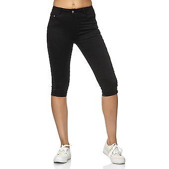 Kvinders Capri spor bukser Treggings bukser Shorts Jeggings Glitter striber