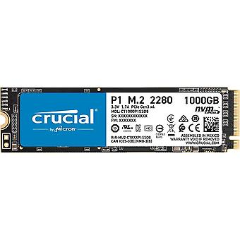 Crucial p1 1 tb ct1000p1ssd8 internal solid state drive-up to 2000 mb/s (3d nand, nvme, pcie, m.2)