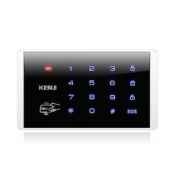 Wireless Rfid, Touch Keyboard, Keypad For Pstn/ Gsm Wifi Home Security, Alarm