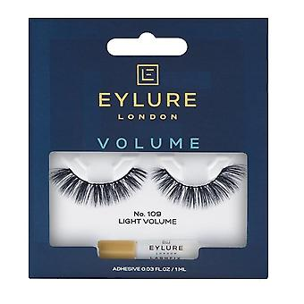 Eylure Reusable False Eyelashes - Light Volume No 109 (adhesive Included)