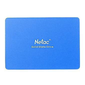 Netac N600S Intern SSD 128GB 2,5 tums SATA 6Gb / s extraordinära TLC Caching Algoritm R / W Hastighet 500MB / s 400MB / s Solid State Drive