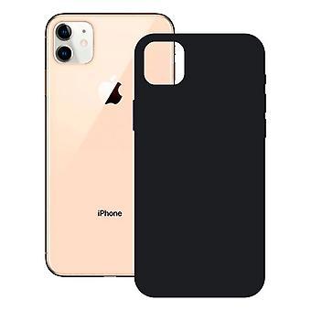 Sag iPhone 12 Pro KSIX Blød silikone sort
