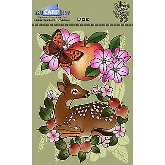 The Card Hut Doe Clear Stamps
