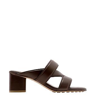 Bottega Veneta 651376vbsl02019 Women's Brown Leather Sandals