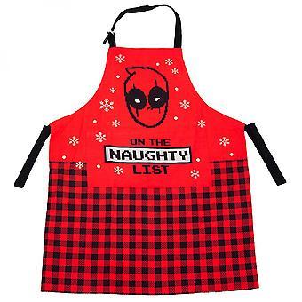 Marvel Deadpool Apron, Towel & Mitt 3-Piece Kitchen Set