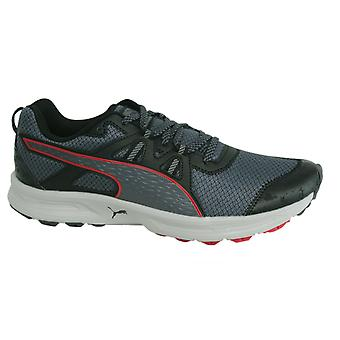 Puma Descendant Mens Lace Up Black Trainers Running Shoes 188167 04 Y7B