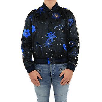 Saint Laurent Teddy Hibiscus Raglan Teddy Sa Black 649112Y1C021093Outerwear