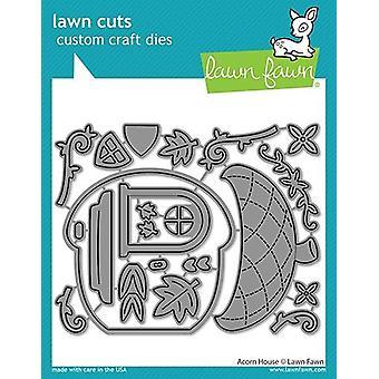 Lawn Fawn Acorn House Dies