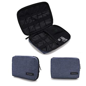 Bagsmart cable organiser bag, travel electronics accessories case organiser for hard drives, cables,