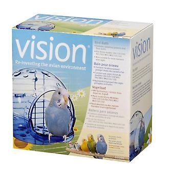 Vision Bath for Small and Medium Birds. (Birds , Bird Cage Accessories , Bird-Baths )