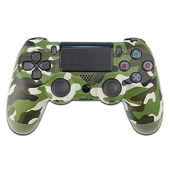 Wireless Game Console DualShock Bluetooth Controller For Sony PS4 Playstation 4 Green Camo