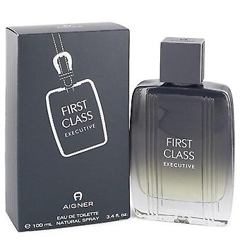 Aigner First Class Executive Eau De Toilette Spray By Etienne Aigner 3.4 oz Eau De Toilette Spray