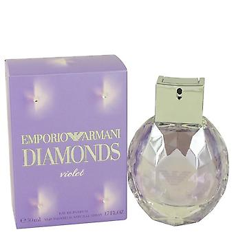 Emporio Armani Diamonds Violet Eau De Parfum Spray By Giorgio Armani 1.7 oz Eau De Parfum Spray