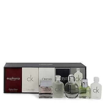 Eternity Gift Set By Calvin Klein Deluxe Fragrance Collection Includes CK One, Euphoria, CK All, Obsessed and Eternity
