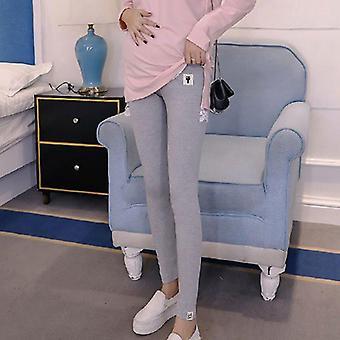 Women's Vaatteet Vatsa Tuki Äitiys Leggingsit Raskaana olevalle naiselle söpö