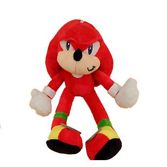Sonic The Hedgedog Kid Red Plush Toy Doll 18cm