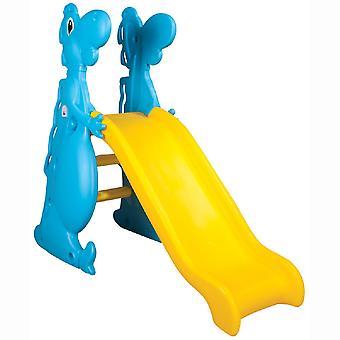 Pilsan børns slide Dino 06198, 140 cm skridtlængde, vejrbestandig, op til 50 kg