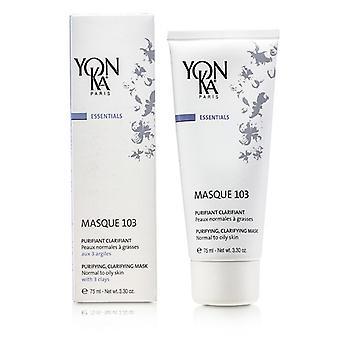 Yonka Essentials Masque 103 - Purifying & Clarifying Mask  (Normal To Oily Skin) 75ml/3.3oz