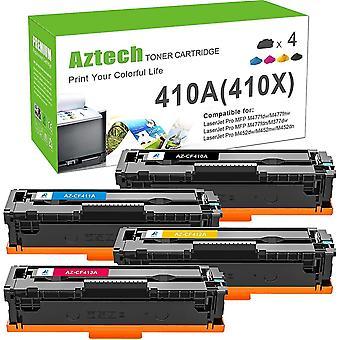 Wokex Kompatibel 410A Toner Replacement fr HP 410A CF410A 410X CF410X fr HP Color Laserjet Pro MFP