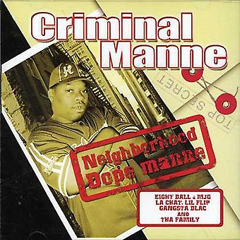 Kriminelle Manne - nabolaget Dope Manne [DVD] USA importere