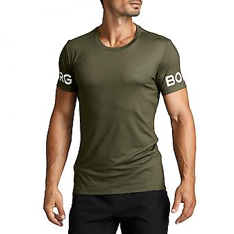 Bjorn Borg Hydro Pro Active T-Shirt, Ivy Green