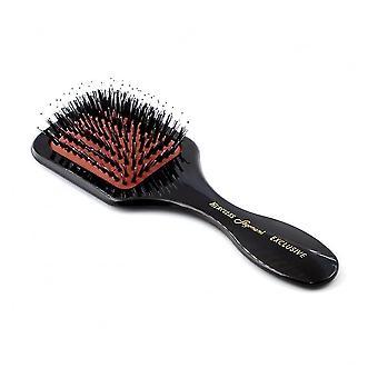 Mini pagaia Hercules Seduction cinghiale setola & Nylon spazzola per capelli