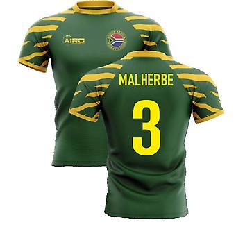 2020-2021 Etelä-Afrikka Springboks Home Concept Rugby Paita (Malherbe 3)