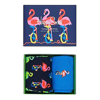 Calcetines felices Flamingo Calcetines Set 2 Pack