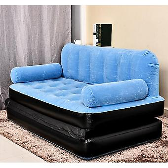 Outdoor L Lazy Inflatable Sofa Bed Apartment Folding Bed Multi-functional Sofa
